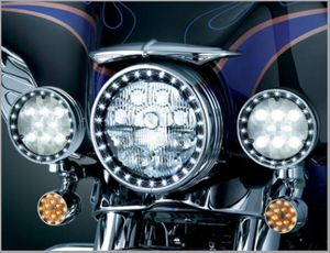 LED Halo Spot Lamp Rings