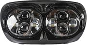 LED Road Glide Headlights- Black