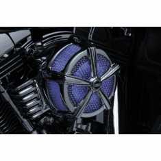 LIGHTED VELOCITY RING FOR AIR CLEANERS