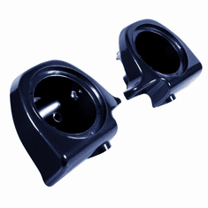 "Lower Vented Fairing 6.5"" Speaker Pods Big Blue Pearl"