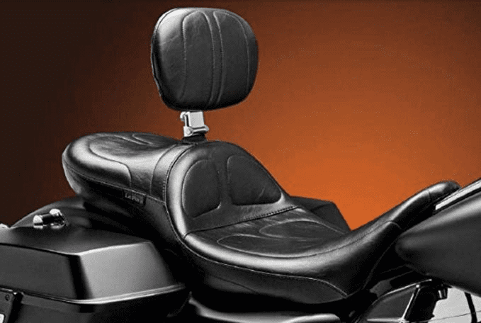 Maverick Daddy Long Legs Stitched Seat w/ Rider Backrest