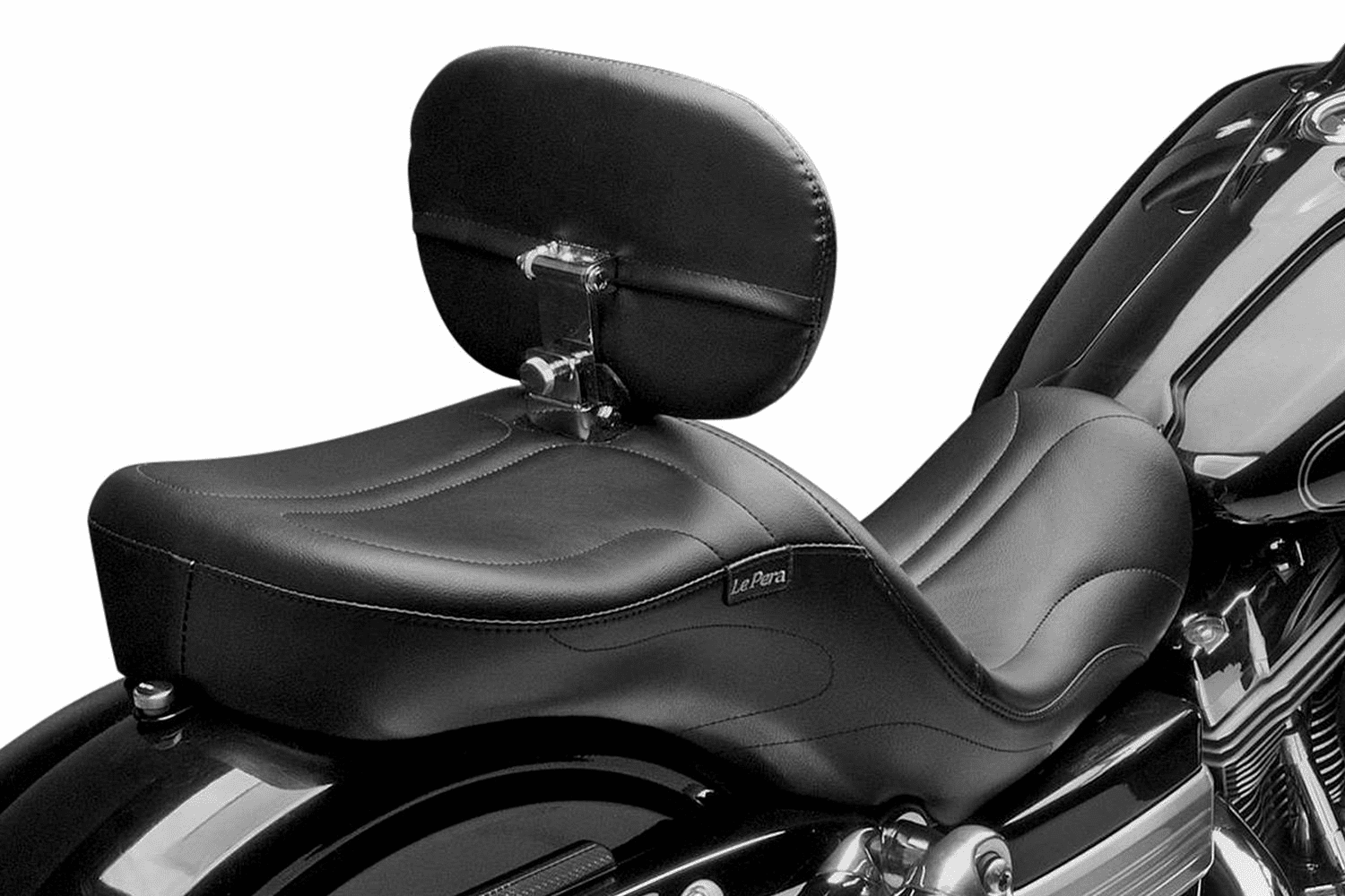 Maverick Seat Stitched w/ Rider Backrest
