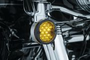 "Mesh Bezels, 3-1/4"" Turn Signals- Satin Black"
