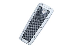 Mesh Dash Insert for Limited, Ultra and Tri Glide- Chrome