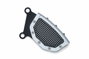 Mesh Front Caliper Cover-Chrome- Softail