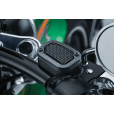 MESH MASTER CYLINDER COVER SOFTAILS 2015-PRESENT- SATIN BLACK