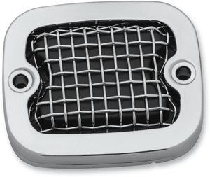 MESH MASTER CYLINDER COVERS- CHROME