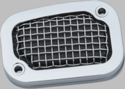 MESH MASTER CYLINDER COVERS SOFTAILS 2015-PRESENT - CHROME
