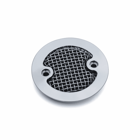 Mesh Timing Cover for Milwaukee-Eight®- Chrome
