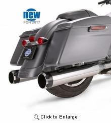 Mk45 Chrome Thruster with Black Contrast End Cap - Chrome Body Finish