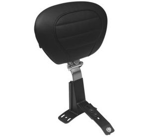 Deluxe Touring Seats - Black Driver Only Backrest