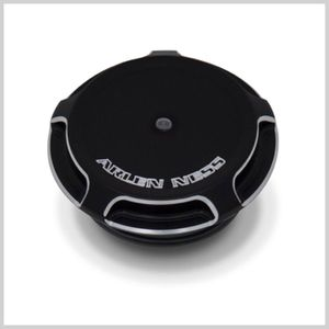 ARLEN NESS Beveled Gas Cap - Black