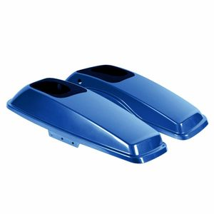 '14- Present Saddlebag Speaker Lids- Superior Blue