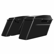 '94-'13 Harley Touring *Standard* Saddlebags Vivid Black