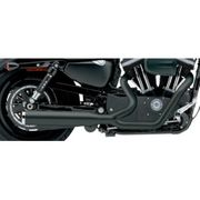 "Cobra PowerPro 4"" RPT 2-into-1 Exhaust Black/Chrome"