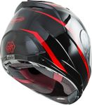 GMAX - FF-88 FULL-FACE PRECEPT HELMET BLACK/RED