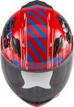 GMAX - YOUTH GM-49Y BEASTS FULL-FACE HELMET RED/BLUE/GREY