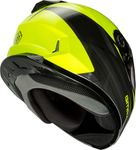 GMAX - YOUTH GM-49Y FULL-FACE DEFLECT HELMET HI-VIS/GREY
