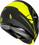 GMAX - MD-04 MODULAR ARTICLE HELMET MATTE HI-VIS/BLACK