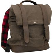 Burly Brand Roll Top Backpack