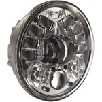 JW Speaker 5-3/4in Adaptive 2 LED Headlight- Chrome