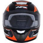AFX - FX-99 Helmet - Recurve - Black/Orange