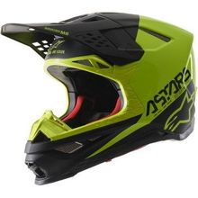 Alpinestars (MX) - Supertech M8 Helmet - Echo - Black/Yellow