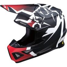 Moose Racing - F.I. Agroid Helmet - MIPS - Red/Black