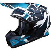 Moose Racing - F.I. Agroid Helmet - MIPS - Navy/Light Blue