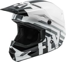 FLY RACING - KINETIC THRIVE HELMET WHITE/BLACK/GREY