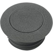 Drag Specialties - Pop-Up Gas Cap - Black Wrinkle - Vented