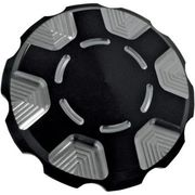 Joker Machine - Gas Cap - Black - Serrated - Techno