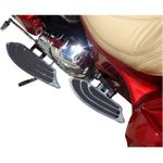 Elite Passenger Floorboard - Chrome