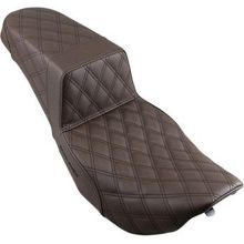 Saddlemen - Step Up Seat - Lattice Stitched - Brown