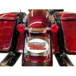 Paul Yaffe's Bagger Nation- Stealth License Plate System for Touring Models-Chrome