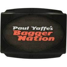 Paul Yaffe's Bagger Nation- Stealth License Plate System for Touring Models-Black