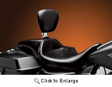 Outcast Daddy Long Legs Seat w/ Rider Backrest- Smooth