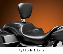 Outcast Seat w/ Rider Backrest- Smooth