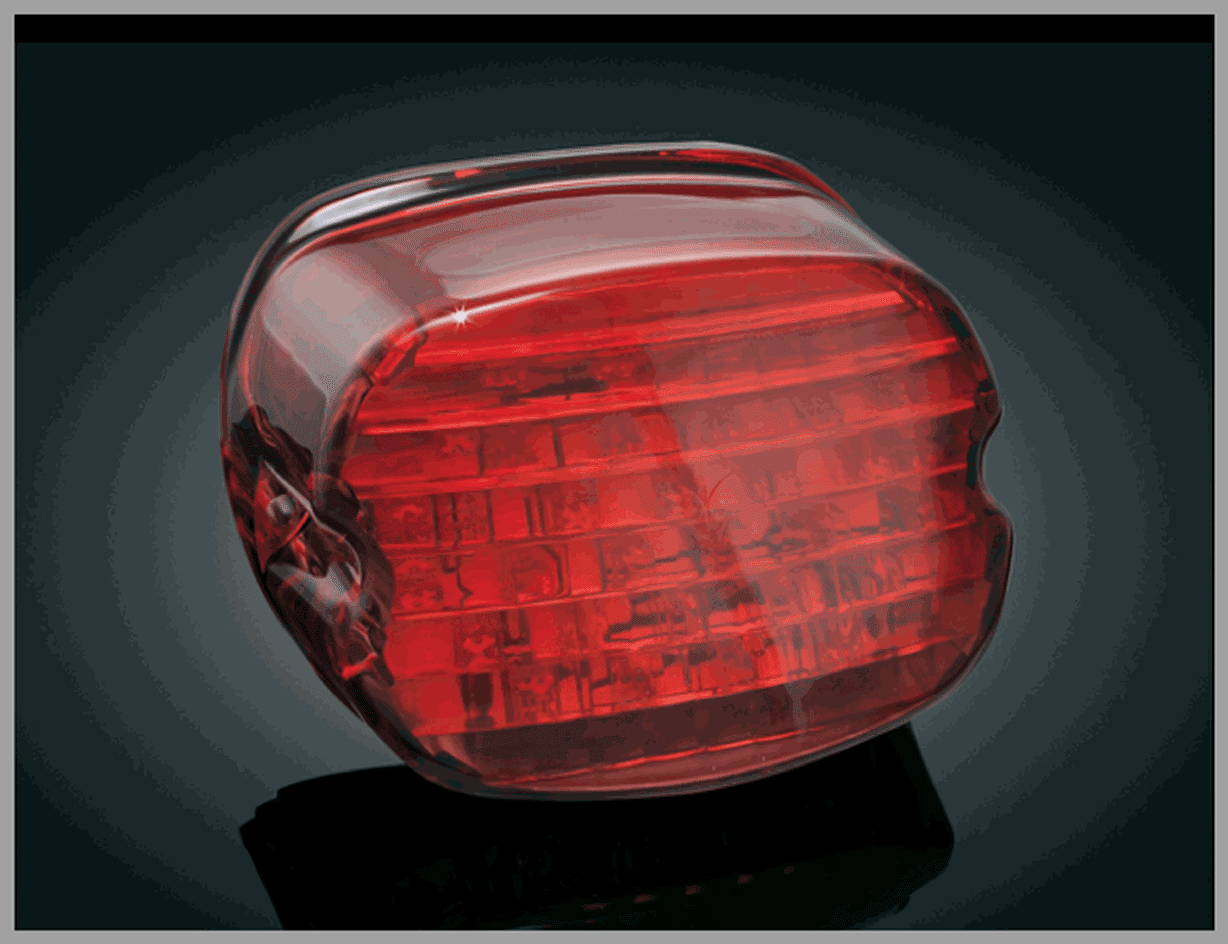 Panacea Taillight - Lay Down - Red