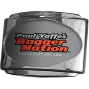 Paul Yaffe's Bagger Nation- CVO Universal Stealth III License Plate Frame -Chrome