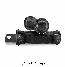 Performance Machine Overdrive Foot Pegs- Black