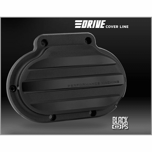 PM DRIVE Clutch Cover - Black Ops