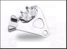 PMI 4 Piston Caliper and Bracket for Sportster Models