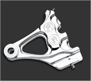 PMI 4 Piston Integrated Differential Bore Caliper for Softail Models