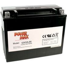 Power Max Maintenance Free Battery GIX30L
