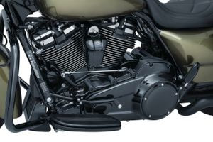 Precision Cylinder Base Cover for Milwaukee-Eight®- Black