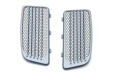 Radiator Grills for Twin Cooled Models - Chrome