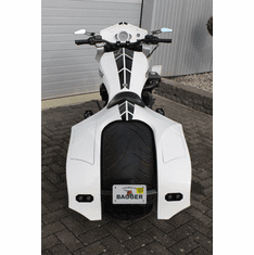 Rear Fender Bagger W/ Integrated Saddle Bags V-Rods 07-17