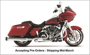 Rinehart Slimline Duals for 2017 Harley Davidson Milwaukee 8 Touring Models