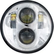 Rivco Products 5-3/4in LED Headlight-Chrome
